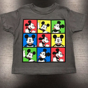Disney Mickey Mouse Toddler Short Sleeve Tee